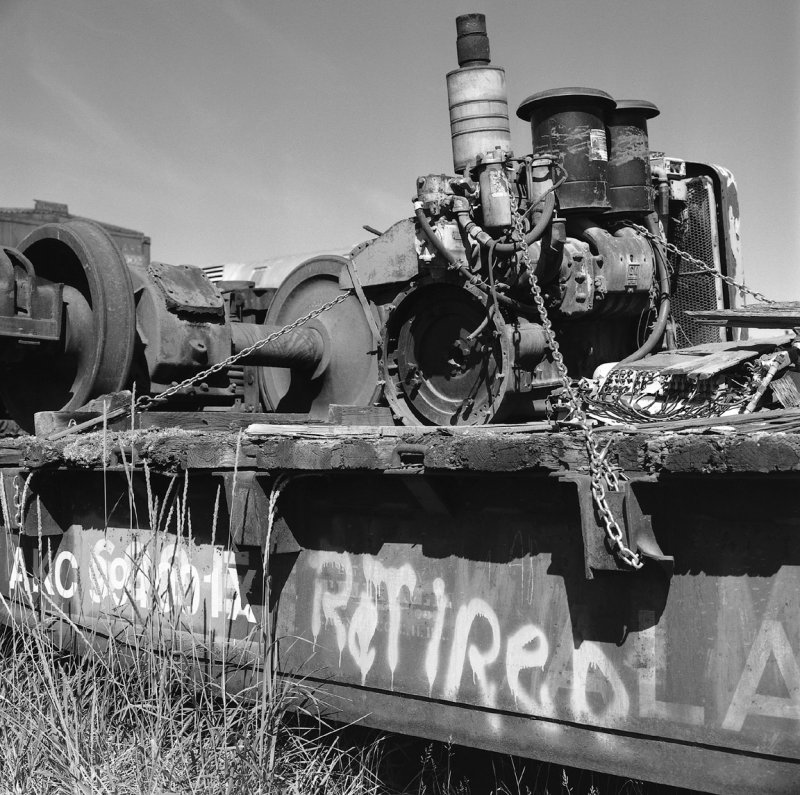 Ship Creek Flat Bed Car-1 06-27-07 BW.jpg